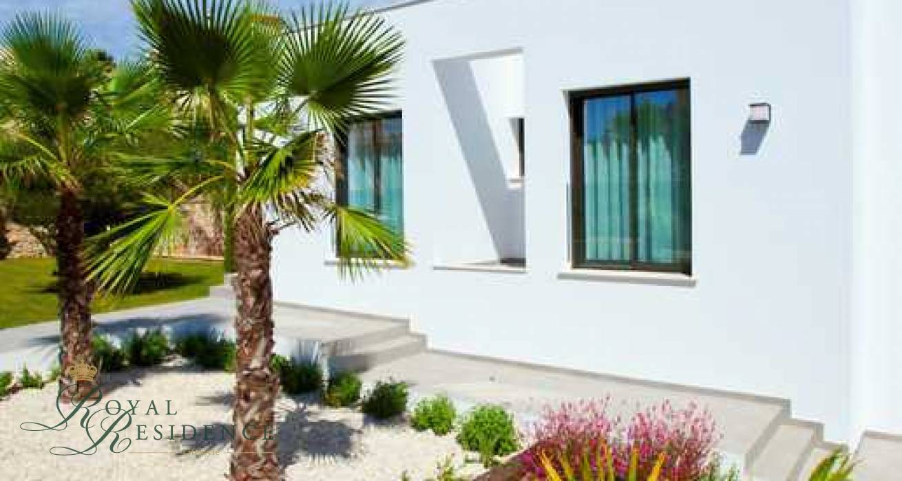 KEY READY MODERN NEW BUILD VILLA IN BENITACHELL